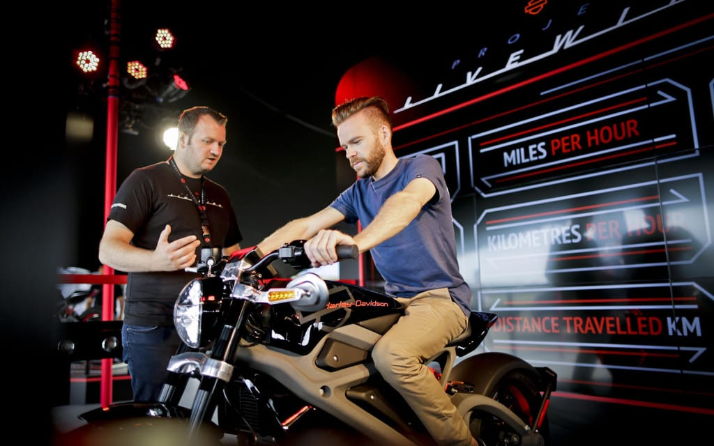 Harley-Davidson Takes Project LiveWire Global