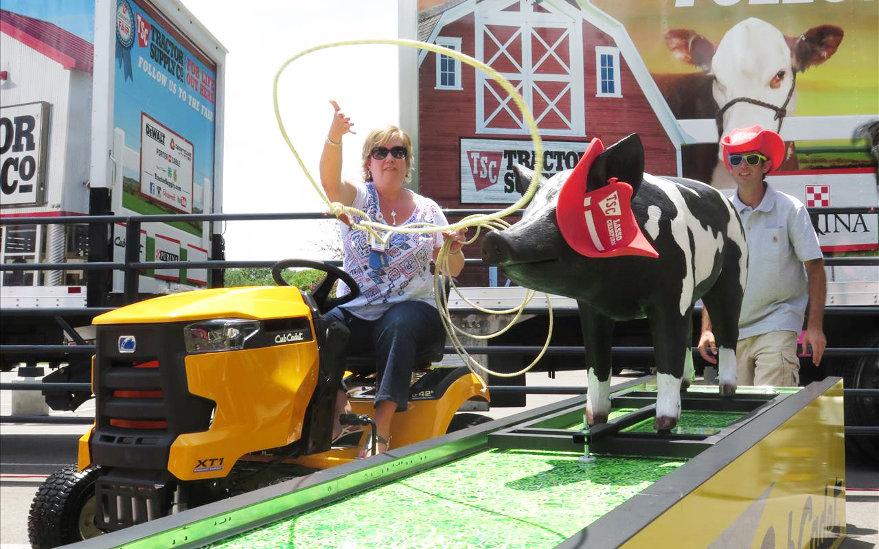 Tractor Supply Hits the State Fair Circuit