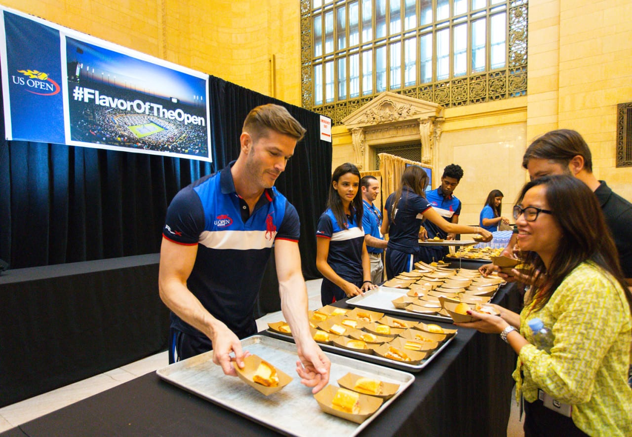 US Open Pop-Up Highlights Food