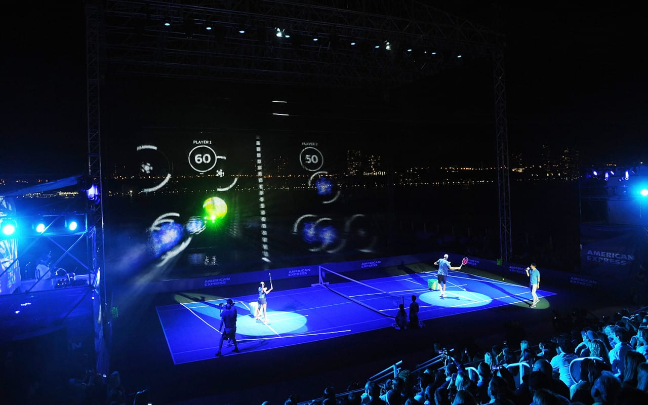 American Express Leverages Holographics at US Open