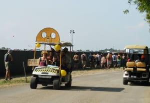 Bonnaroo Tour - Golf Cart Taxis