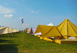 Bonnaroo Tour - Onsite Tent Rentals