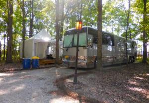 Bonnaroo Tour - VIP Camping Area
