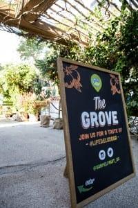 Sanpellegrino 2015 Grove Sign
