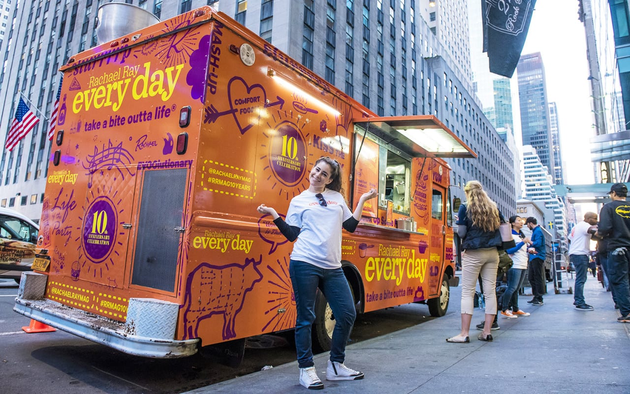 Rachael Ray Every Day Magazine Celebrates Anniversary with a Food Truck
