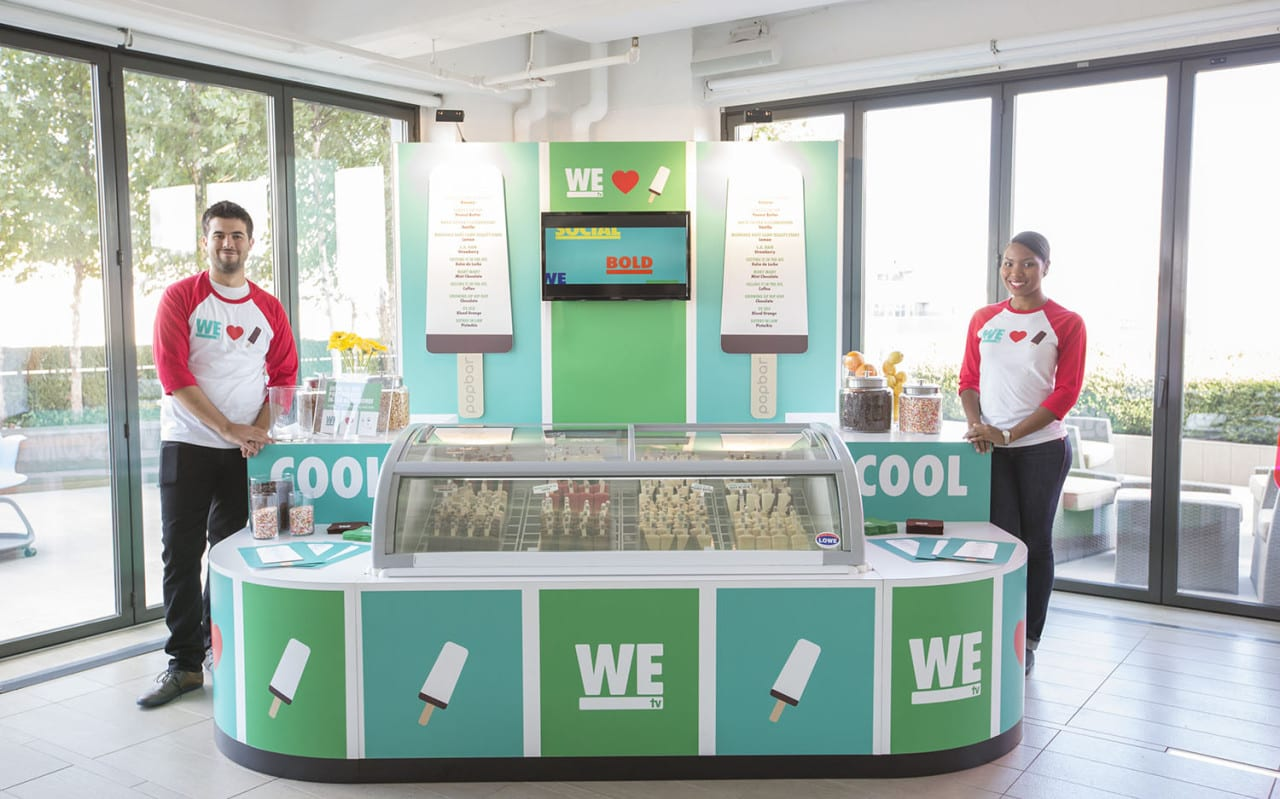 WE tv Launches a PopBar Activation