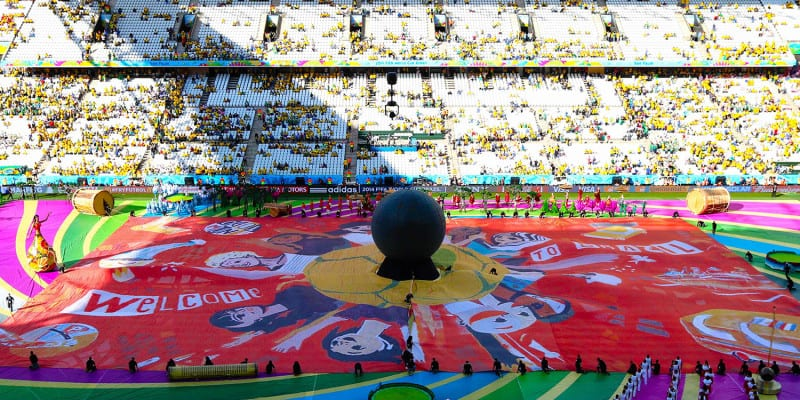 2014 FIFA World Cup Brazil Opening Ceremony