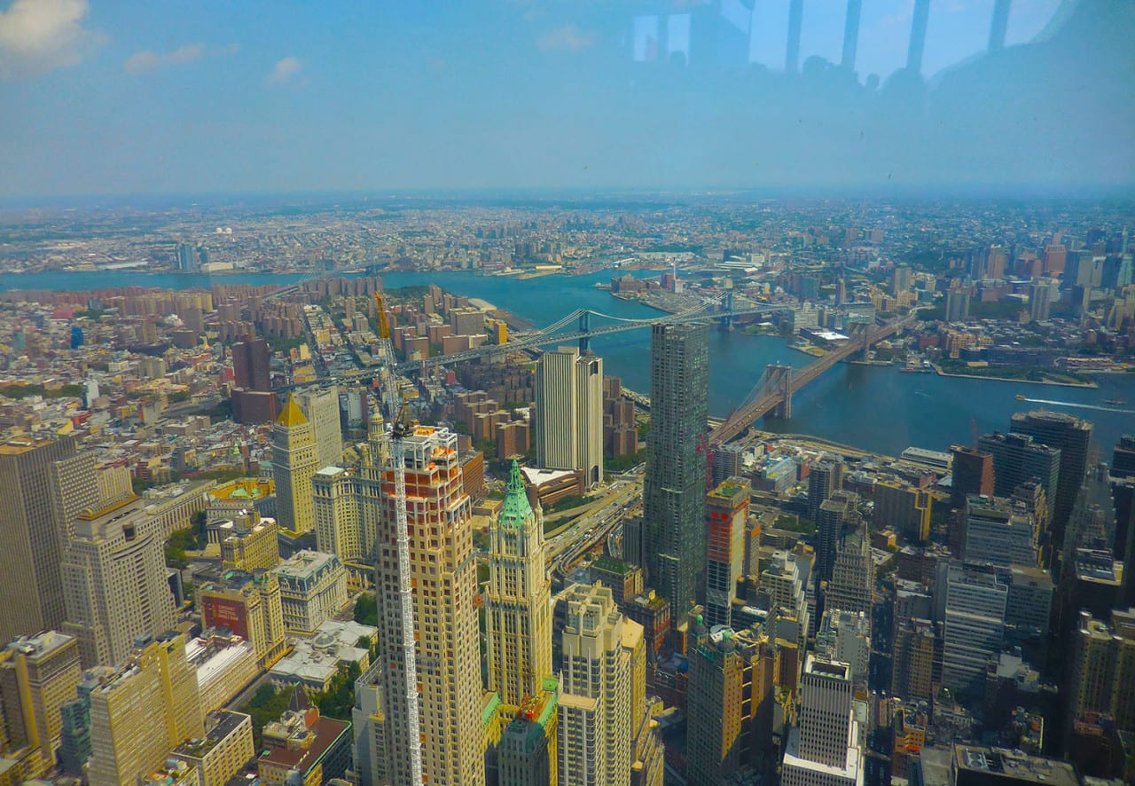 One World Observatory City View 2015