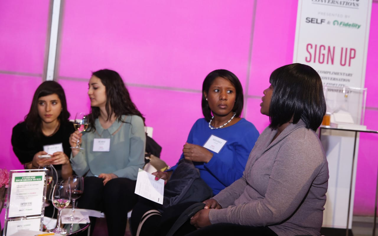 SELF and Fidelity's Empowering Conversations Women's Event