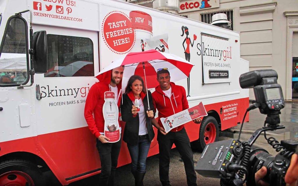 Skinnygirl food truck 2