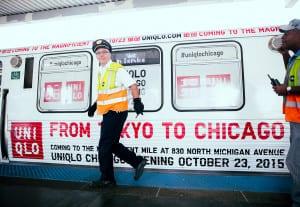 Uniqlo Chicago Train 1