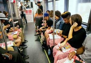 Uniqlo Chicago Train 6