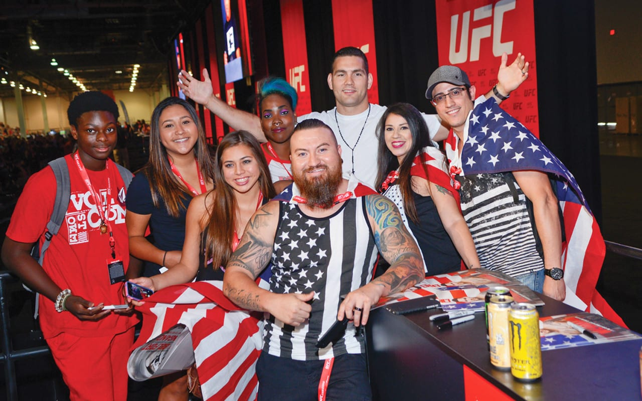 UFC Takes Over Las Vegas with Tech