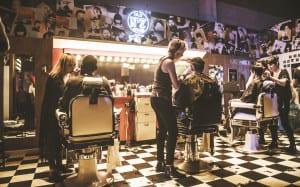Jack Daniel's Motel 7 Barber Shop