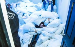 Jack Daniel's Motel 7 Pillow Fight
