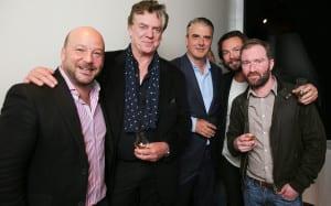 Bacardi Malts of Legend Launch Event 2015 - Ziggy Lomond Campbell, Gabriel Cardarella, Chris Noth, Christopher MacDonald, Bryce Goodman