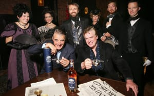 Bacardi Malts of Legend Launch Event 2015 - Christopher McDonald and Chris Noth