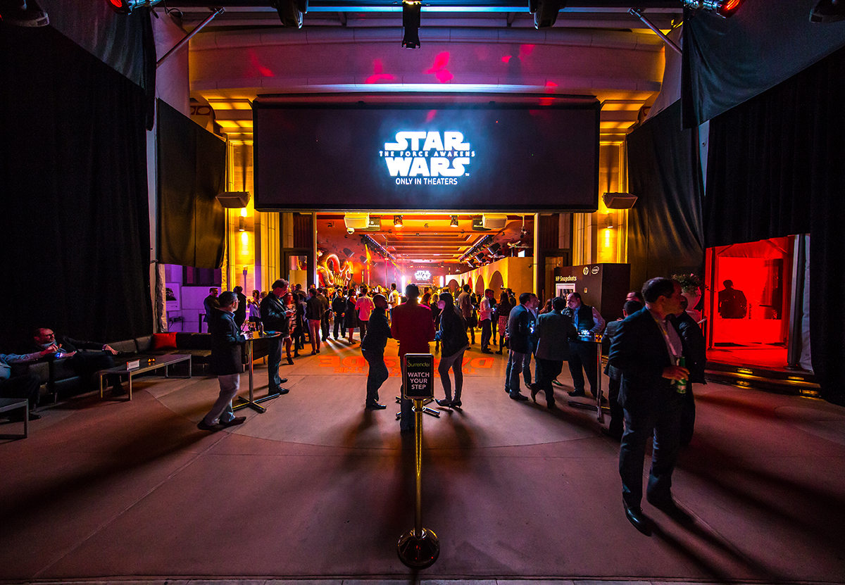 HP Star Wars Activation at CES - Awaken Your Force Campaign