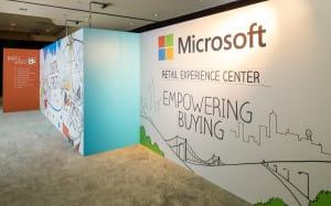 Microsoft Retail Experience Center empower buying