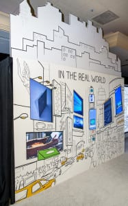 Microsoft Retail Experience Center real world