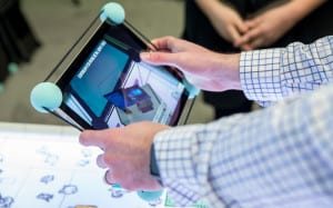 Microsoft Retail Experience Center tablet