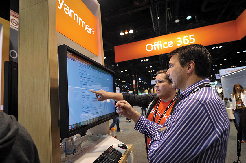 Microsoft Ignite Conference Yammer