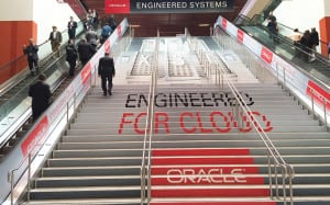 Oracle OpenWorld 2015 stairs