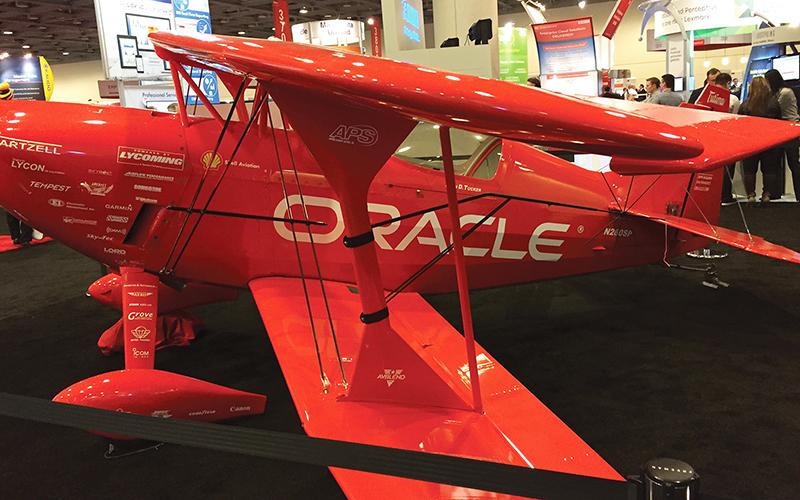 OpenWorld 2015 team oracle plane