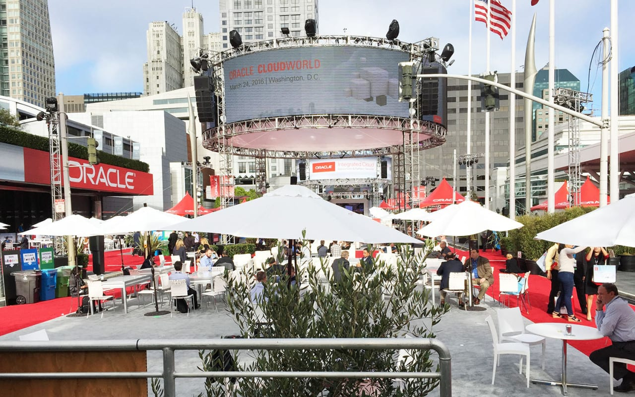 OpenWorld 2015 outdoor scape