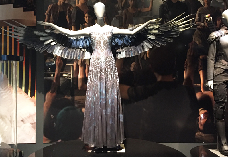 hunger games exhibition wing costume