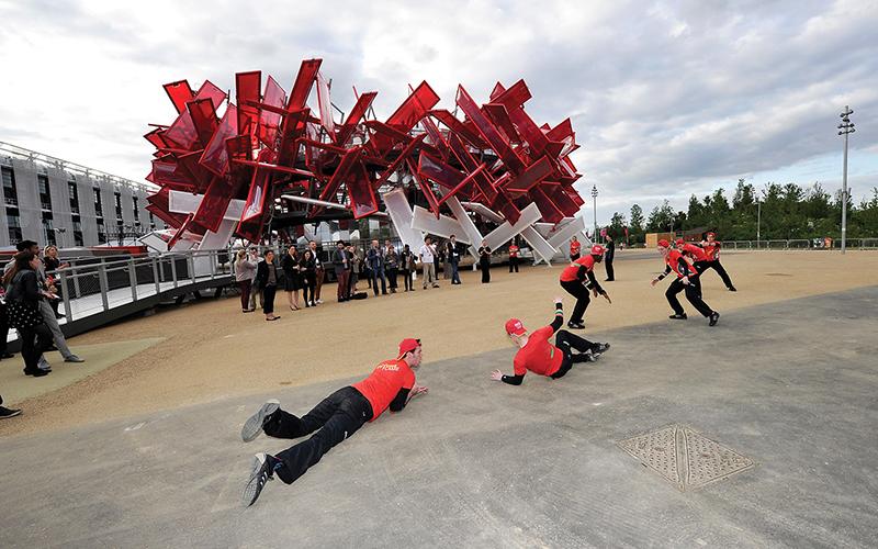 Perennial events: Coca Cola Beat Box at Olympics 2012