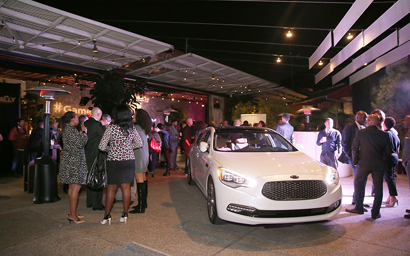 Kia and Uptown: Inspirationally Crafted Events 2015-16