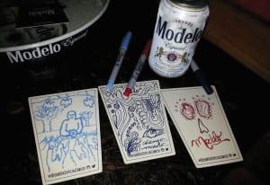 Modelo coasters