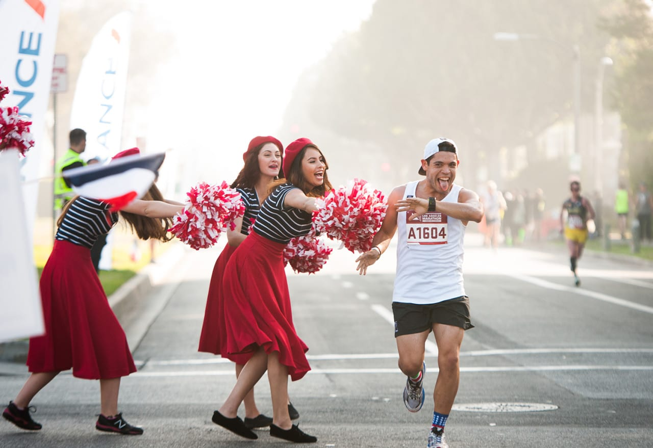 Air France Sponsors the Los Angeles Marathon