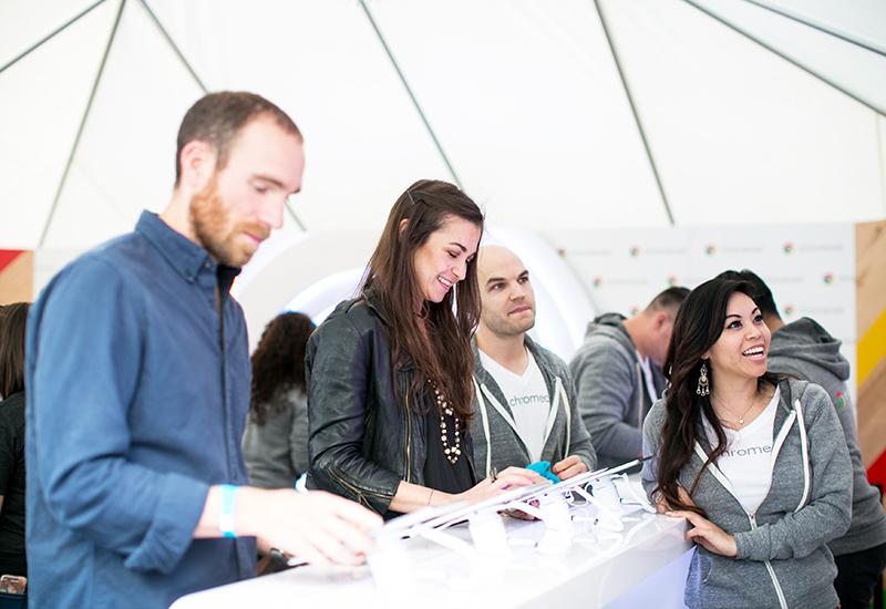 Festival activations: Google Chromecast at iHeart Radio Jingle Ball