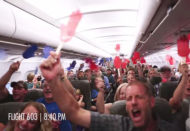 Inside JetBlue's Reach Across the Aisle Stunt