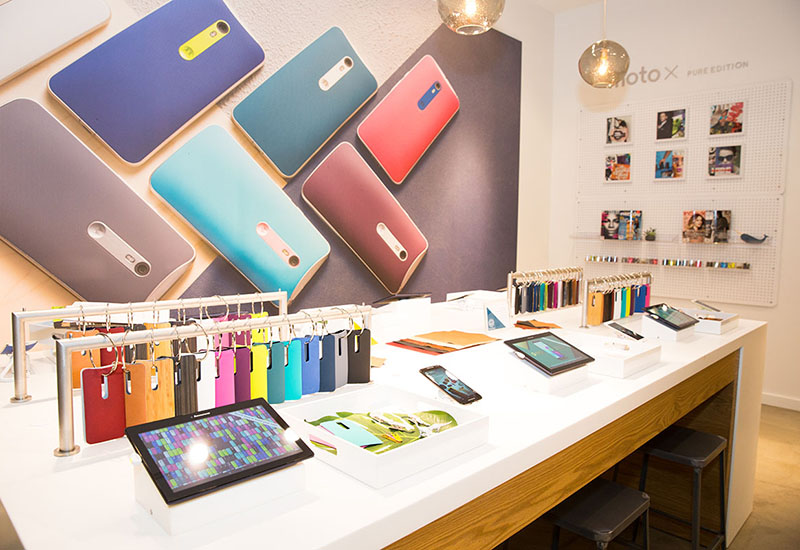 The Art of Experiential Inside Motorola's Moto Shop
