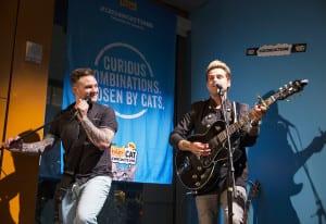 "Friskies enlisted Platinum-selling recording artist Ryan Cabrera and ""American Idol"" runner-up Blake Lewis to create surprising musical mashups."