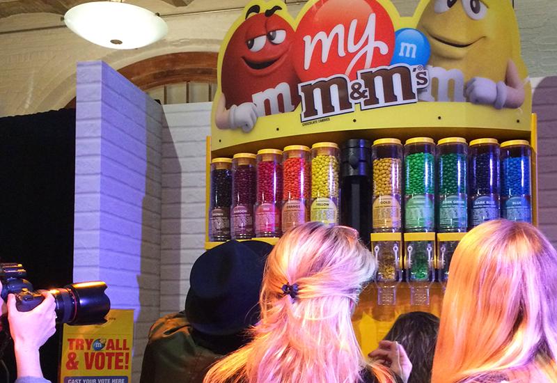 m&m anniversary_candy_dispenser