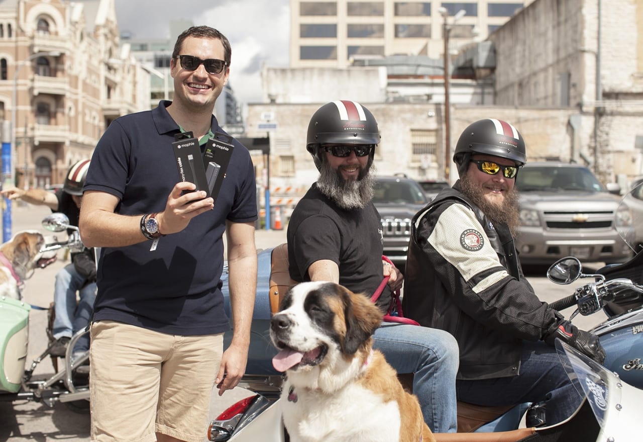 Mophie Returns to SXSW Strategy with Device-Saving Dogs