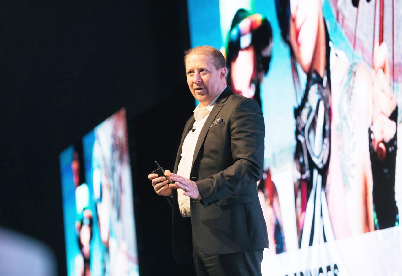 Pepsi's Adam Harter Deliver's a Rousing Keynote Speech