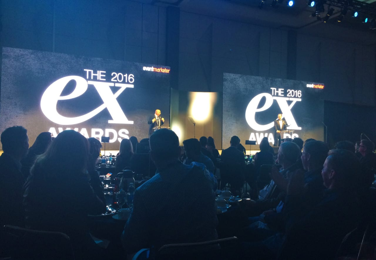 Ex Awards Event Marketer