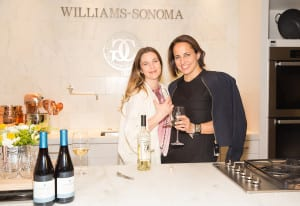 Drew Barrymore and  Marie Claire editor-in-chief Anne Fulenwider joined attendees at Williams-Sonoma where female chefs discussed food.