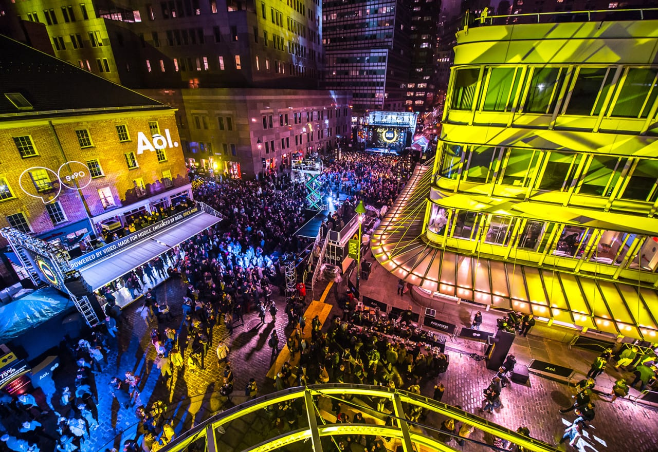 AOL Treats Media Buyers to a NewFront Block Party