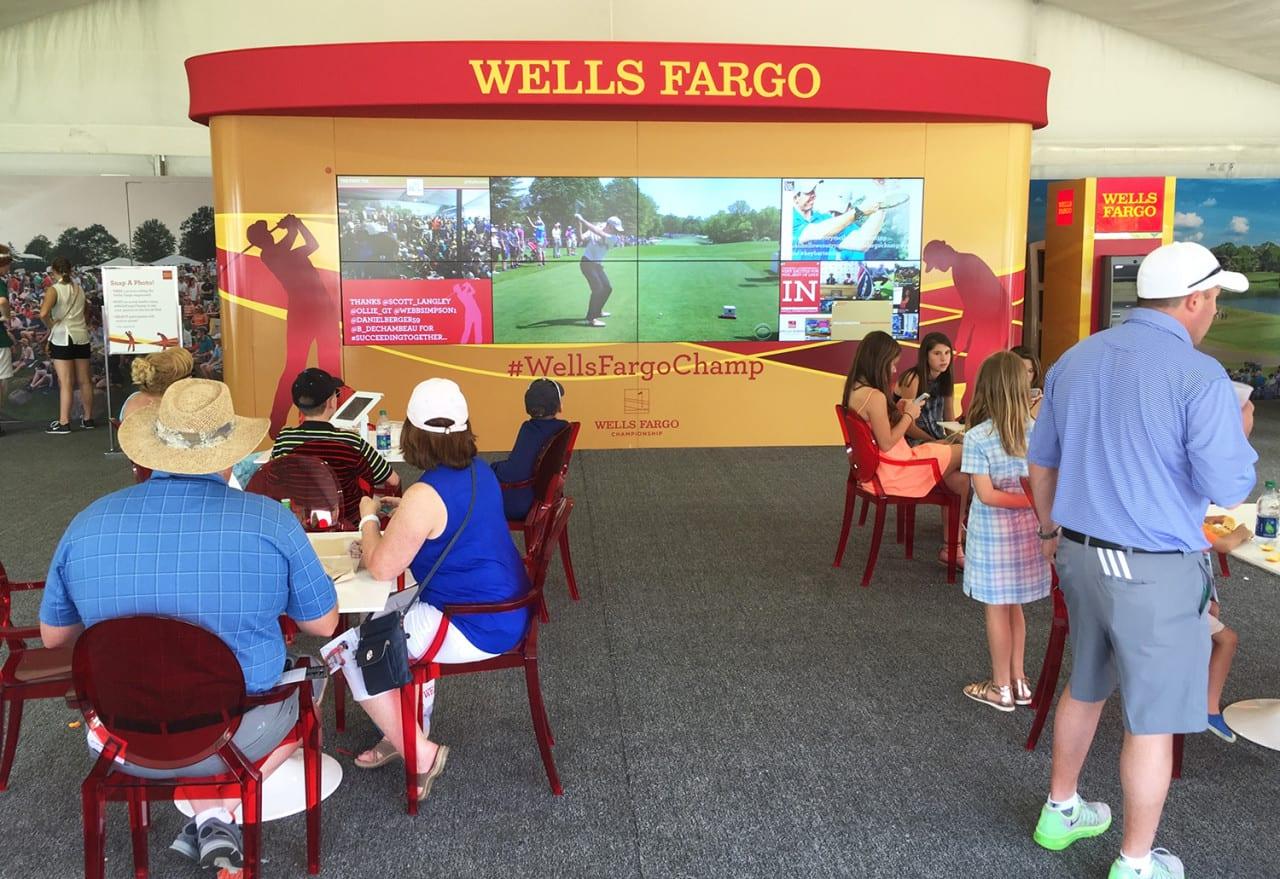 Wells Fargo Activates a Social Media Hub for Golf Tournament