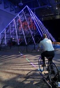 EMC World 16_bike pyramid