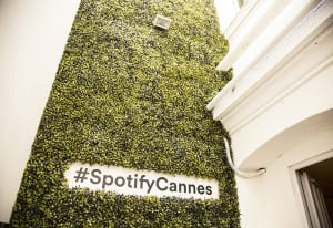 Spotify House Cannes 2016_grass