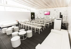 Spotify House Cannes 2016_seating_white room