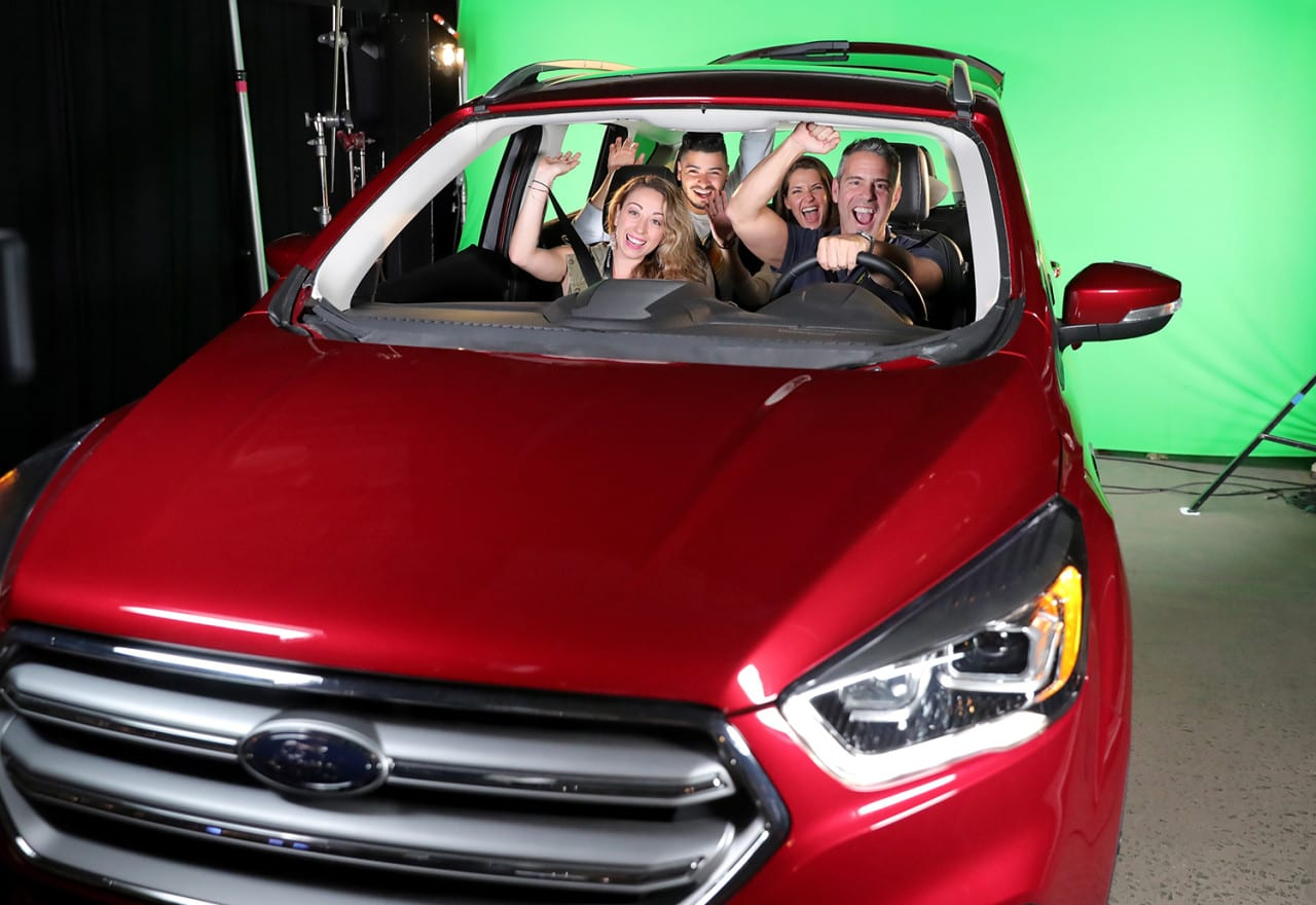 Inside Ford's Drivable 'Escape the Room' Experience