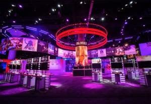 Square Enix_E3_booth overview